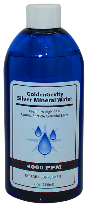 4000 PPM Colloidal Silver 8 Oz