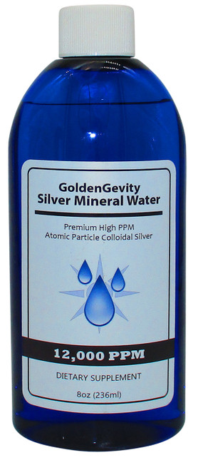 12,000 PPM Colloidal Silver 8 Oz
