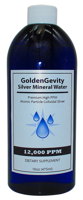 12,000 PPM Colloidal Silver 16 Oz
