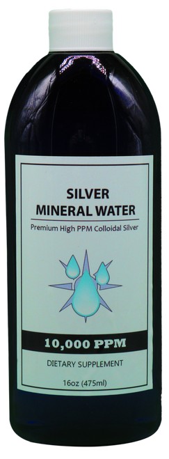 10,000 PPM Colloidal Silver 16 Oz