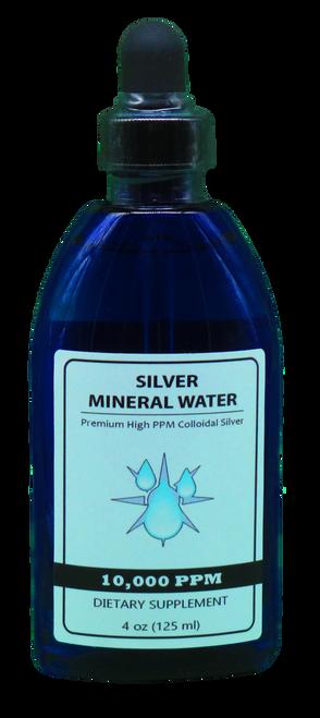 10,000 PPM Colloidal Silver 4 Oz