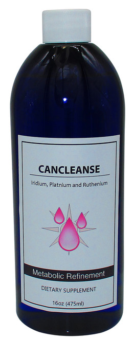 CanCleanse  Colloidal Iridium, Platinum and Ruthenium  16 Oz Bottle