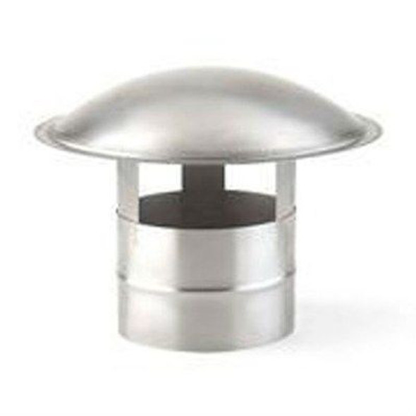"HF4400SS HEAT FAB SAF-T LINER 4"" LINER RAIN CAP 304 STAINLESS STEEL"