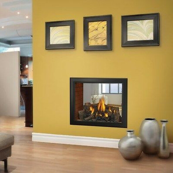 NAPOLEON Model HD81NTSB See Thru Gas Fireplace NIB!