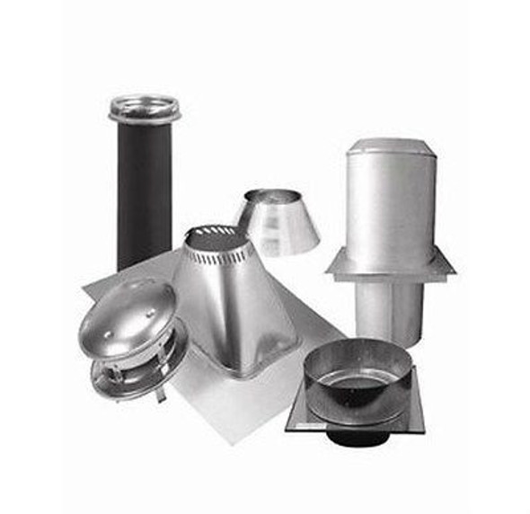 "6T-FCK Selkirk Metal Best Ultra Temp Flat ceiling Support Kit in 6"" Diameter"