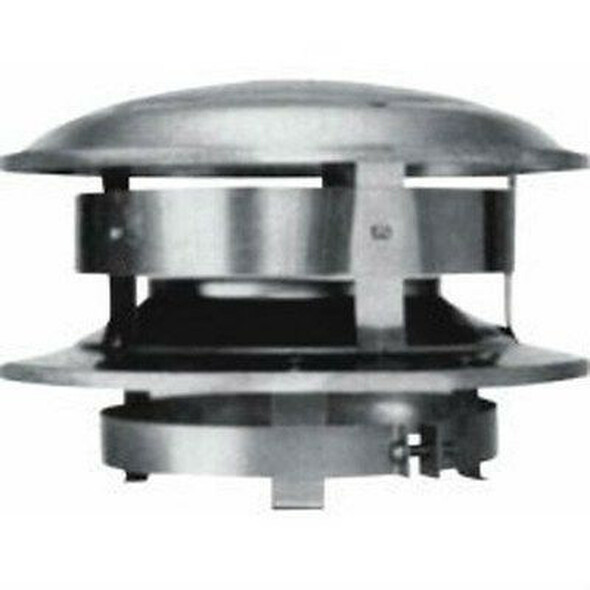 "6T-CT Selkirk Metal Best Ultra Temp Round Top Chimney Cap Type HT 6"" Diameter"