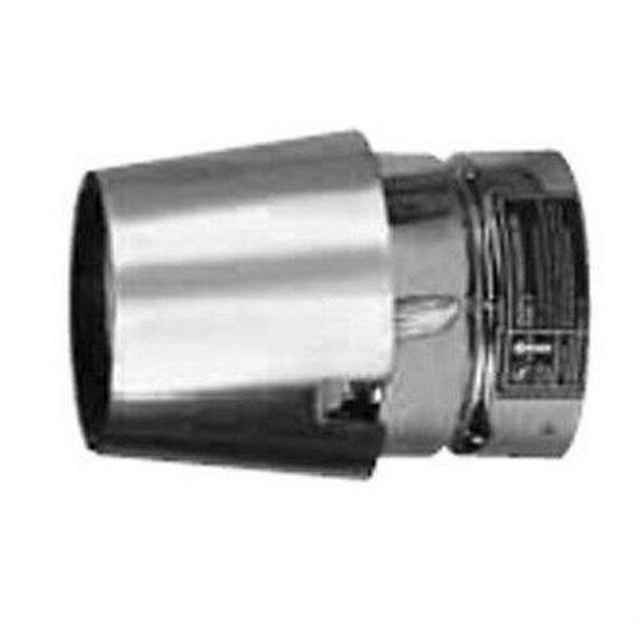 "VP-EC Metal Best VP Pellet Chimney Horizontal Exit Cap  In 3"" Diameter"