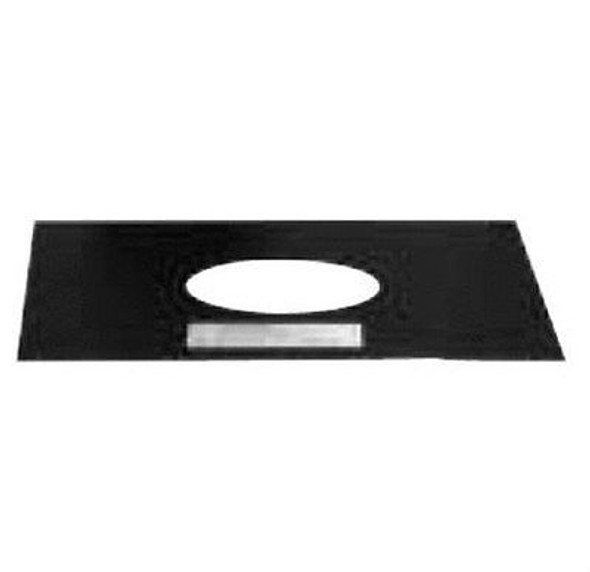 """VP-TP Selkirk Metal Best VP Pellet Chimney Trim Plate Black In 3"""" Diameter"""