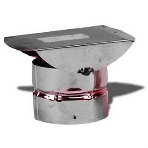 """VP-HC Metal Best VP Pellet Chimney Horizontal Termination In 4"""" Diameter"""