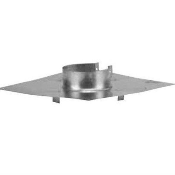 "VP-CS Metal Best VP Pellet Chimney Ceiling Support/Fire Stop 4"" diameter"
