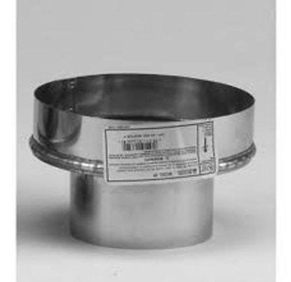 """VP-A8 Selkirk Metal Best VP Pellet Chimney 8"""" SS Adapter In 3"""" Diameter"""