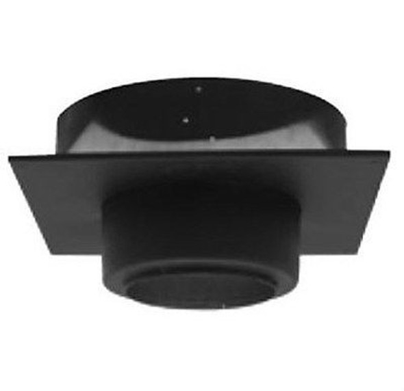 "7T-FSP Selkirk Metal Best Ultra Temp Square Ceiling Support in 7"" Black"