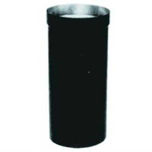 "7T-DSA Selkirk Metal Best Ultra Temp Dripless Smoke Pipe Adapter in 7"" Black"