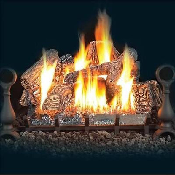 """GL24NE Napoleon Electronic Ignition Vented Natural Gas Log Set -Available in 24"""""""
