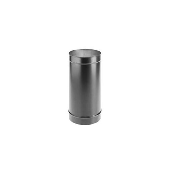 "DuraVent DuraBlack 24-ga. Welded Black Stovepipe 8"" Diameter x 12"" Length 8DBK-12"