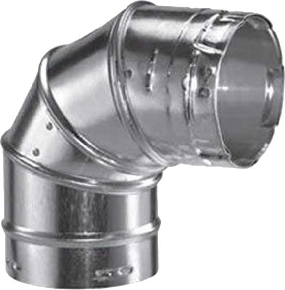 "3GVL90 M & G DuraVent Type B Gas Vent 90 Degree Elbow 3"" diameter"