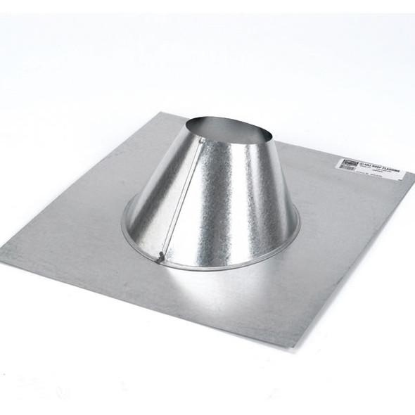 "4GVF DuraVent Type B Gas Vent Adjustable Roof Flashing 4"" Diameter"