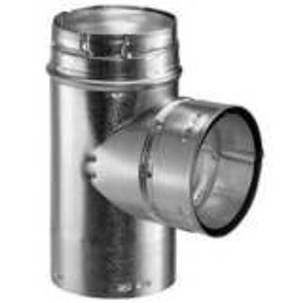 "8GVT M & G DuraVent Type B Gas Vent Pipe Standard Tee 8"" Diameter"