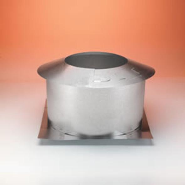 "6DP-IS 6"" Dura-Vent Attic Insulation Shield, Galvalume"