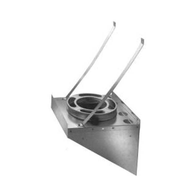 """8DP-TSBSS 8"""" Dura-Vent DuraPlus Tee Support, Stainless Steel"""