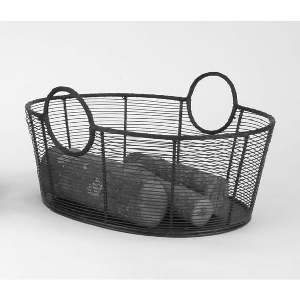 71265 Woodfield Steel Wire Fire Wood Basket