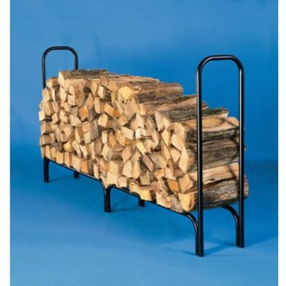 "10808 Large Log Rack Holds 1/2 Cord 46""h x 14""d x 87""l, legs are 8.5"""