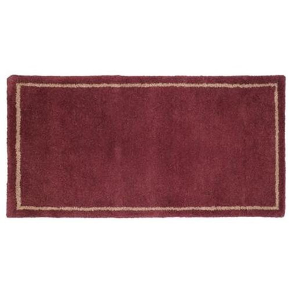 """61158 Woodfield Mulberry W/border Contemporary Rectangular Rug 22"""" X 44"""""""