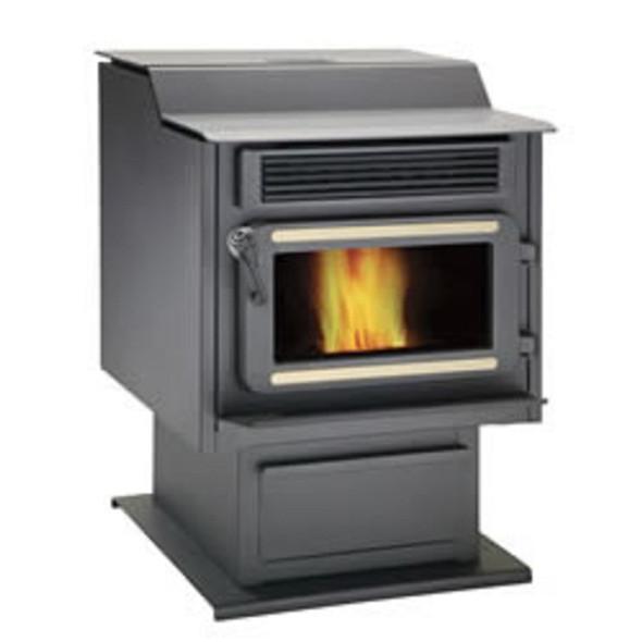93370 FL-066 Flame FP-45 Steel Pellet Stove
