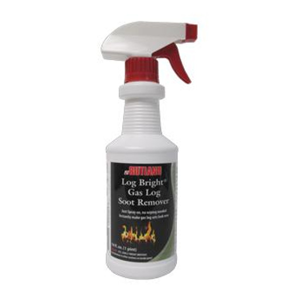 RUTLAND 570-6 Log Bright Gas Log Soot Remover 16 fl oz
