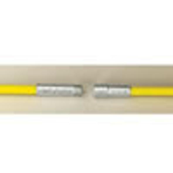 "3573276 Heavy Duty Yellow .480"" Fiberglass Rod 3/8"" NPT 6'"