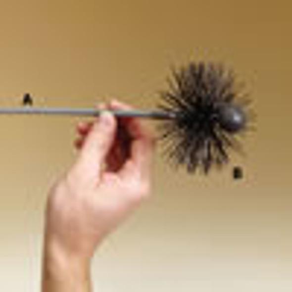 3573256 Pellet Stove Brush Rod, Gray, 5'