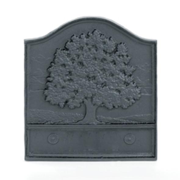"61095 Pennsylvania Great Oak Cast-Iron Fireback 18""W X 20""H"