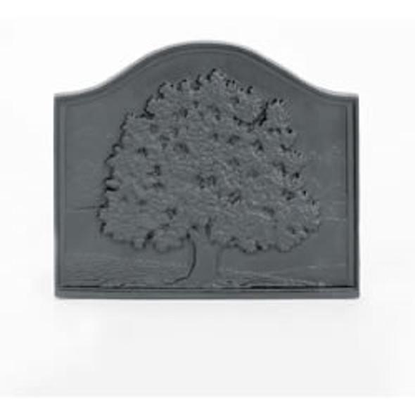 "61094 Pennsylvania Small Oak Cast-Iron Fireback 18""W X 15 1/2""H"