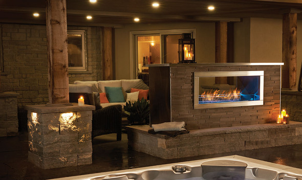 Napoleon Galaxy™ - GSS48 Double Sided See Thru Gas Fireplace