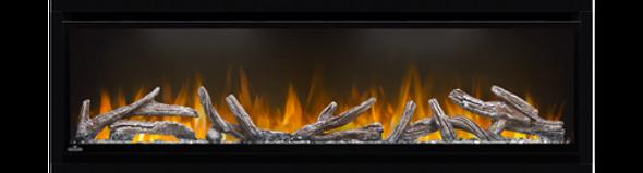 Napoleon Alluravision™ Series Clean, Crisp, Contemporary Design Electric Fireplace