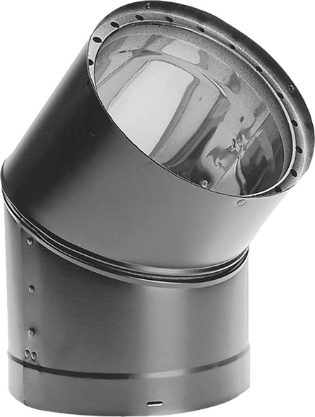 """Dura-Vent DVL Double-Wall Stove Pipe 7"""" Diameter 45 Degree Elbow Sectioned, Adjustable 7DVL-E45"""