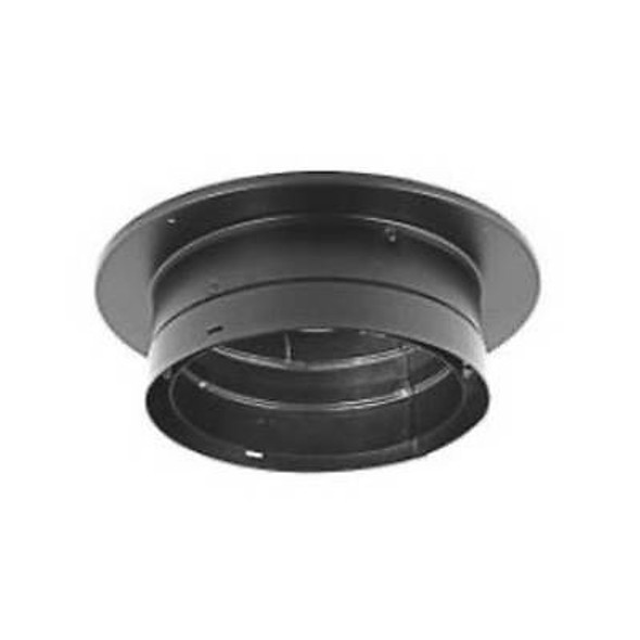 "DuraVent DVL® Double-Wall Stove Pipe 8"" Diameter Chimney Adapter with Trim Collar 8DVL-ADT"