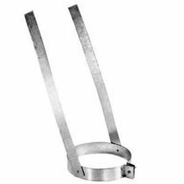 "6DP-ES 6"" Dura-Vent DuraPlus Elbow Strap, Galvanized Steel"