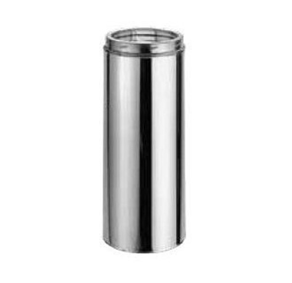 """6"""" x 12"""" DuraVent DuraTech Stainless Steel Chimney Length 6DT-12SS"""