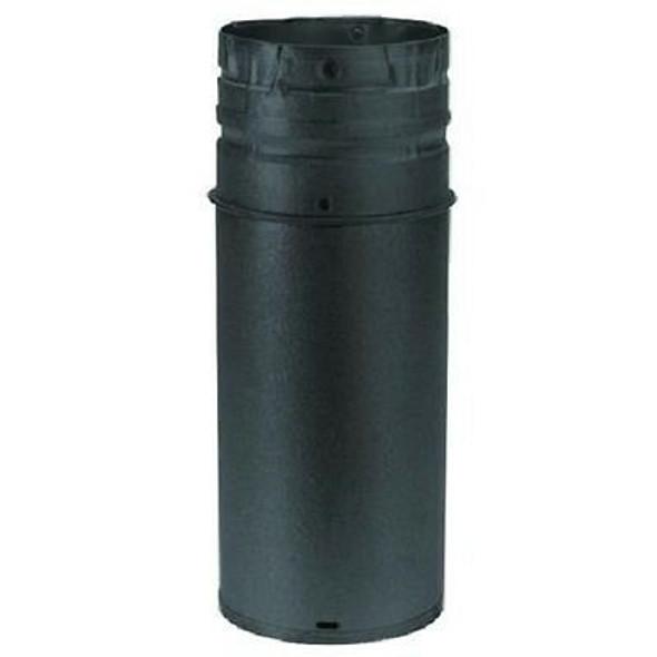 "DuraVent PelletVent Pro 4"" DIAMETER X 6"" STRAIGHT LENGTH PIPE - BLACK - 4PVP-06B"