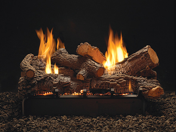 White Mountain Hearth Vent Free Log Set
