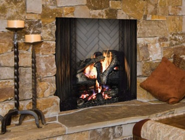 "Majestic Ashland Wood Burning 42"" Radiant Fireplace"