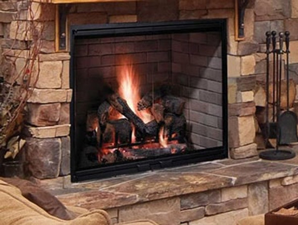 "SB100 50"" Majestic Biltmore Radiant Wood Burning Fireplace"