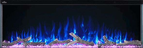 """Napoleon Trivista™ Series 60"""" 3-sided linear electric fireplaces NEFB60H-3SV"""
