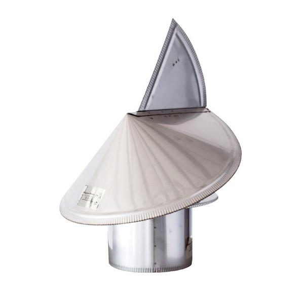 """Gelco Wind Directional Flue Cap 7"""" Class A Chimney Cap"""