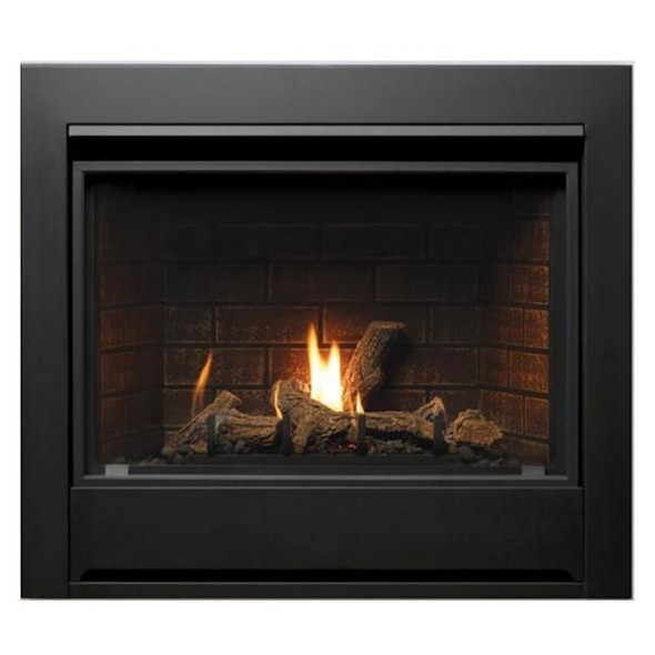 Kingsman 33 Inch ZDV3318 Zero Clearance Direct Vent Gas Fireplace