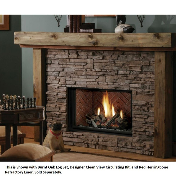 Kingsman 36 Inch HBZDV3628 Direct Vent Gas Fireplace