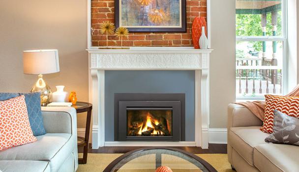 Iron Strike Madison Park™ 32 gas fireplace insert