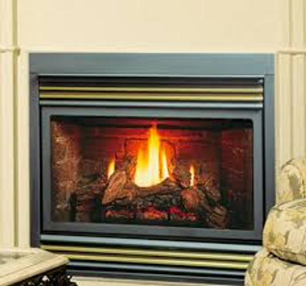 """Kingsman ZV3600 Zero Clearance Vented Gas Fireplace - 36"""" wide"""