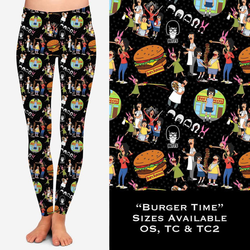 WW Burger Time leggings with pockets